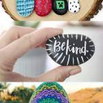 15 Inspiring Diy Painted Rock Ideas A Piece Of Rainbow