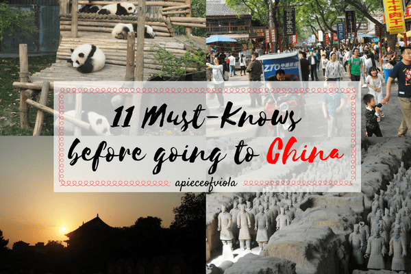 11 Must-Knows Before Going to China