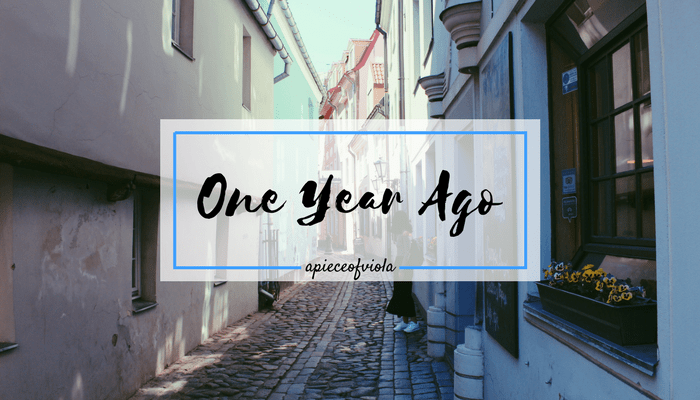 One Year Ago: Reflections | Gap Year Travel