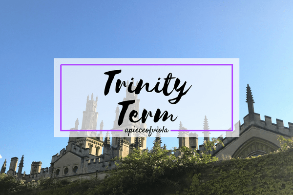 Reflection: Trinity Term & First Year | Uni Diaries