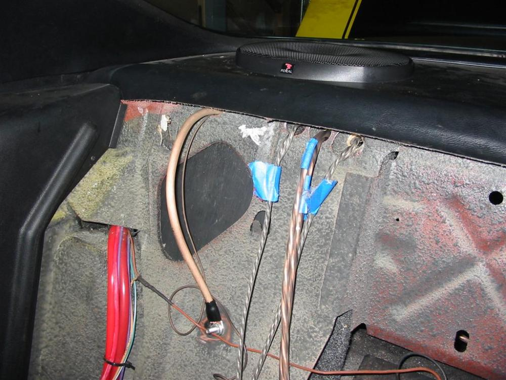 medium resolution of here are pictures of the radio installation into the dash