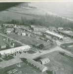 Horham Airbase, RAF Horham, home of the 95th Bomb Group, photo taken from a B-17
