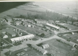 Horham Airbase, home of the 95th Bomb Group, photo taken from a B-17