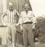Walter Noyes Sr, and his son Joe Noyes