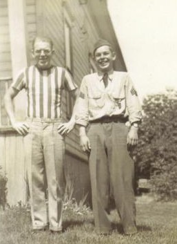 Walter Noyes Sr, and his son Joe Noyes