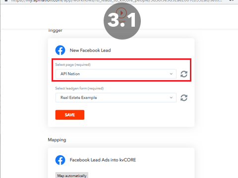 How to Setup the Facebook Lead Ads to kvCORE Integration - API Nation