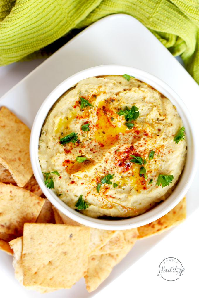 instant pot classic hummus