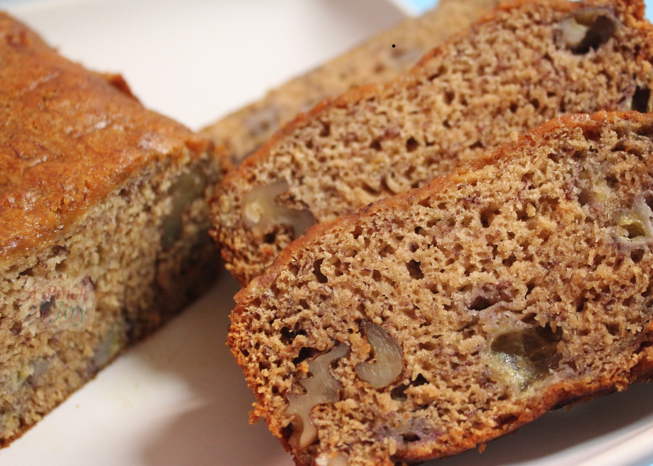 honey banana bread a pinch of joy
