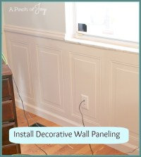 Wall Panel: How To Install Wall Paneling