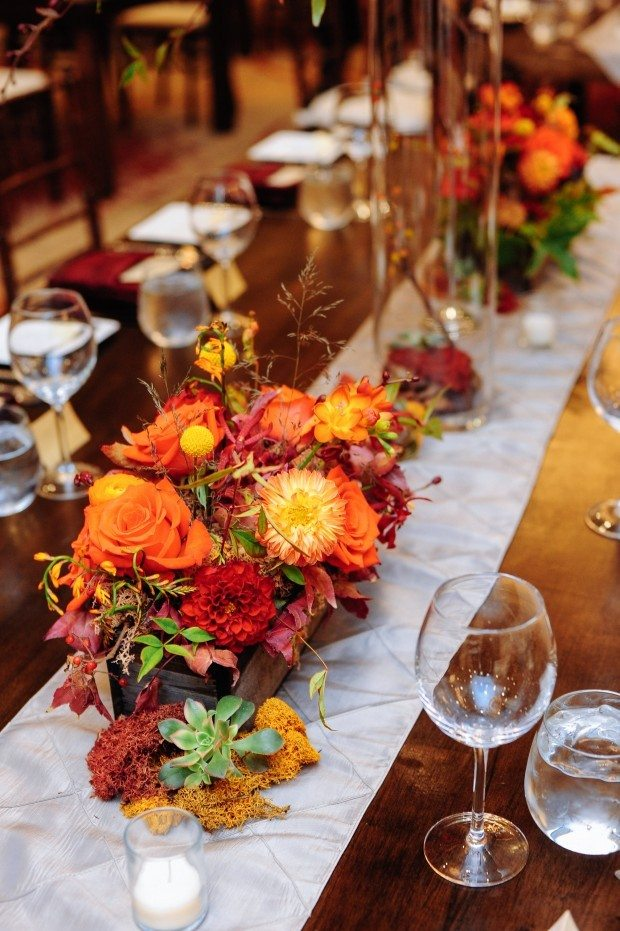 Modern Rustic Fall Wedding