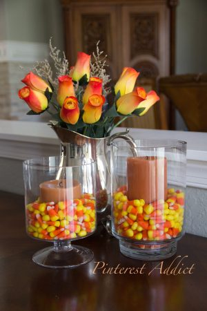 Easy and cheap halloween fall decor