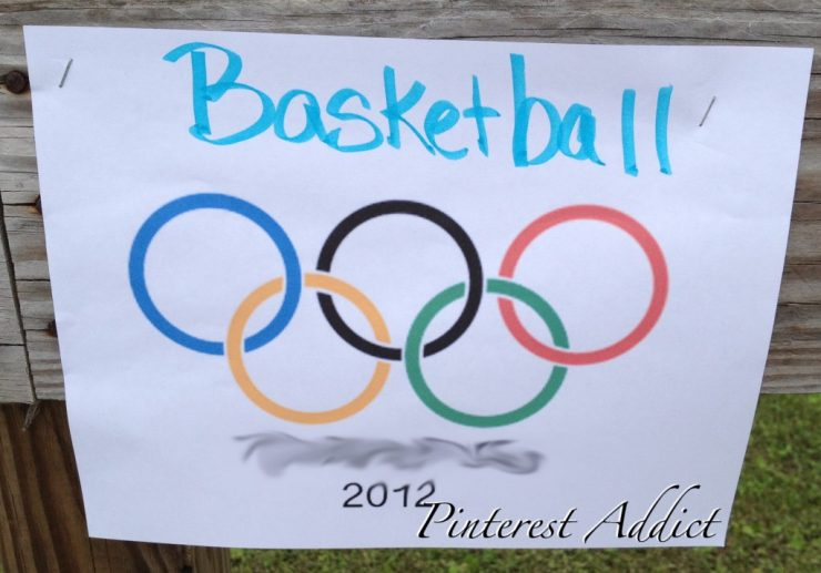 Check out more ideas for a Olympics themed birthday party on the blog!