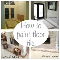 How To Paint On Tile | Tile Design Ideas