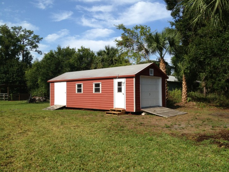 Our second Red Shed
