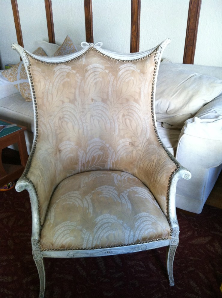 Reader chair before