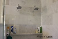 Small Bathroom Corner Glass Shelf (17 Image)