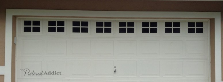 Faux Carriage Garage Door - Windows complete