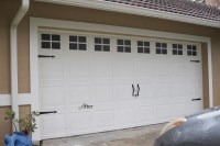 Creating A Faux Carriage Garage Door - Pinterest Addict