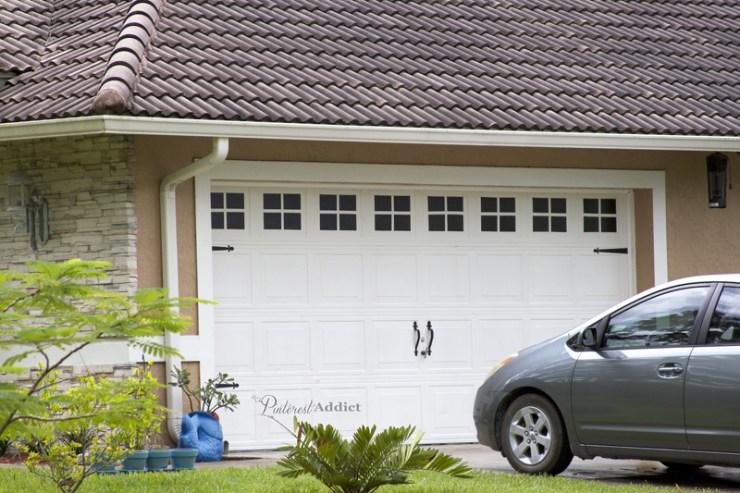 Faux Carriage Garage Door - Garage doors after