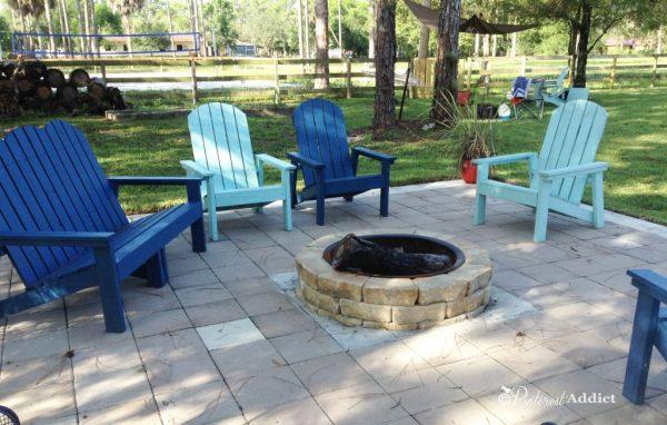 Pinterest Addict - DIY Lowe's fire pit