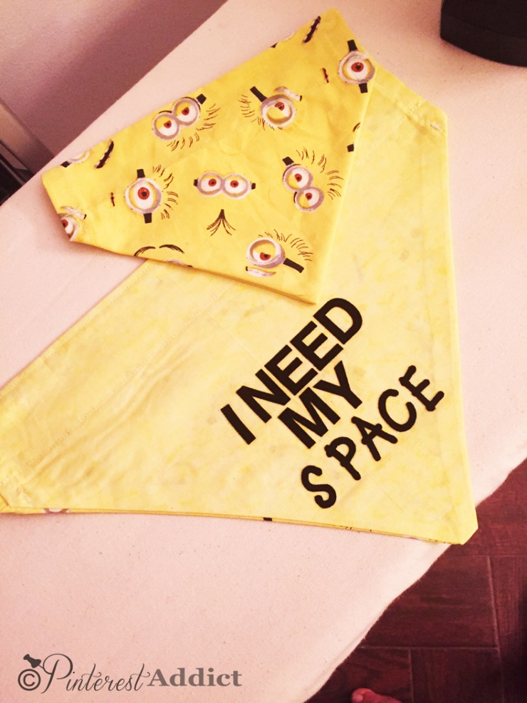 I Need my Space - dog anxiety bandana