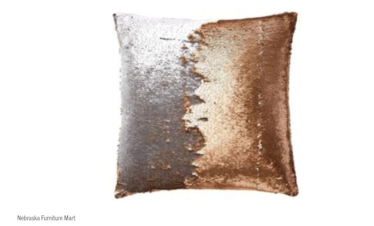 Mermaid pillow from Nebraska Furniture Mart