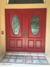 Painting the Front Door - Again - Pinterest Addict
