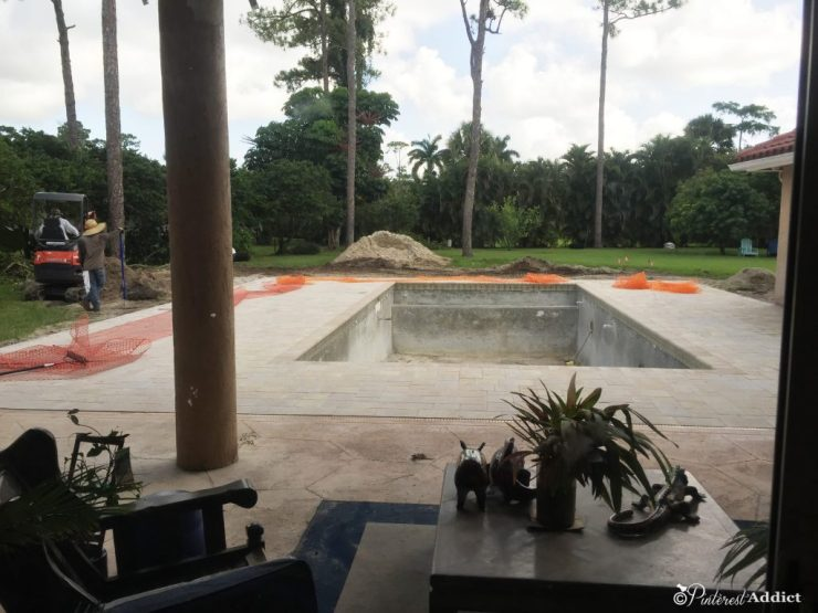 What to expect when building a pool - deck is complete