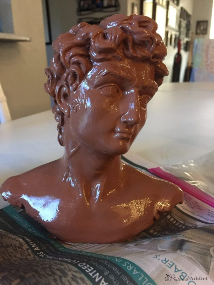 Modern Masters Copper patina paint - primer