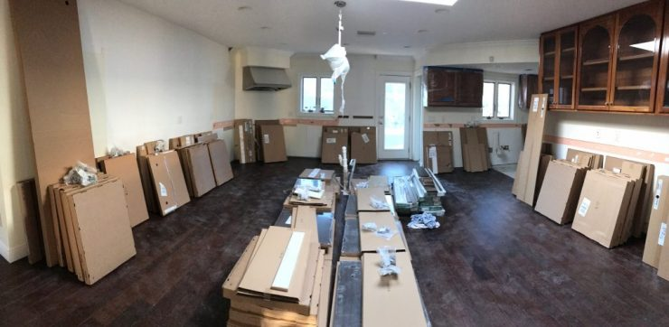 Kitchen renovation - Ikea cabinets