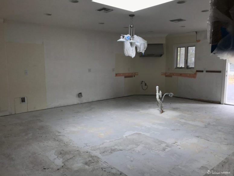 ORC Kitchen Progress - empty kitchen