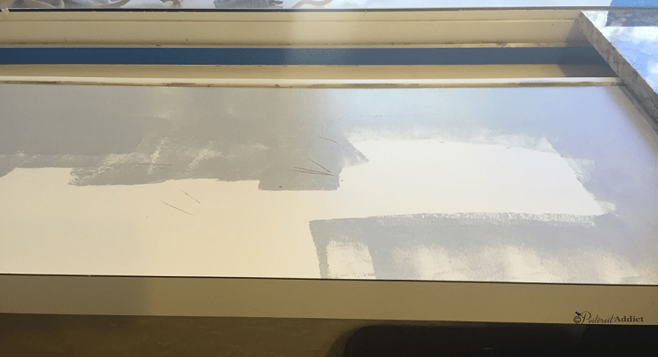 Kilz adhesion primer on melamine counter