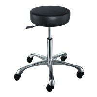 """""""FANCY"""" Hair Salon Stool with Cast Alloy Base (Free Shipping)"""
