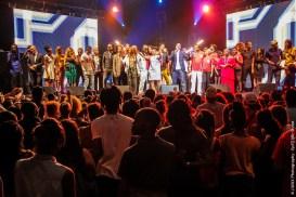 Tous ensemble sur la scène du Drépaction 2013