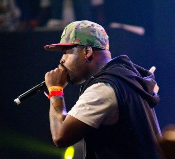 DJ Krispee durant le Drépaction 2013