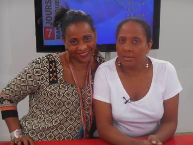 Zouk TV_Jenny et Gisèle Ericher_Drépaction Mque 2015