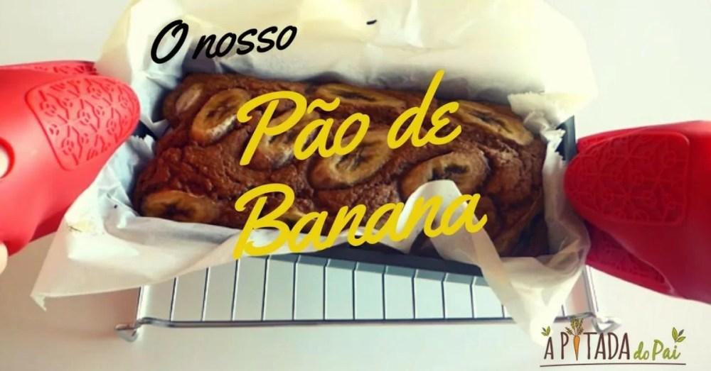 Pão de banana saudável (a partir dos 12 meses)