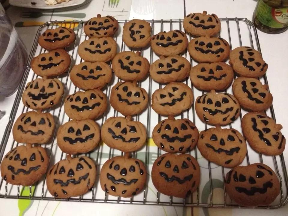 bolachas de halloween
