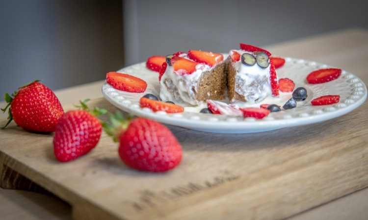 Scones de pequeno-almoço - nutritivos e saciantes