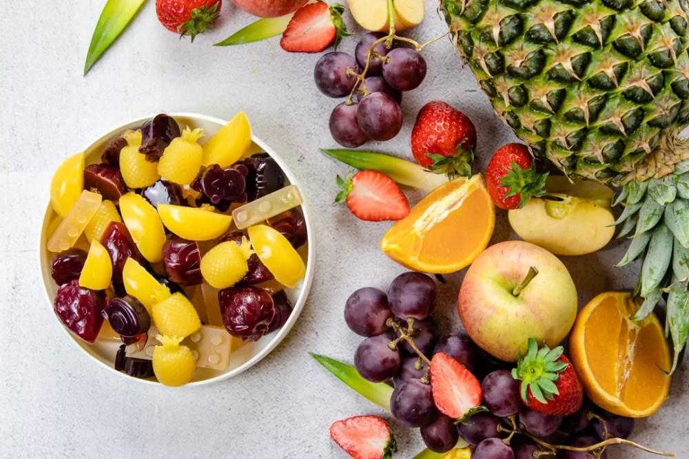 Gomas ainda mais saudáveis
