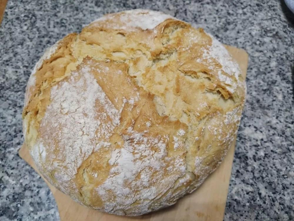 pão fácil sem amassar