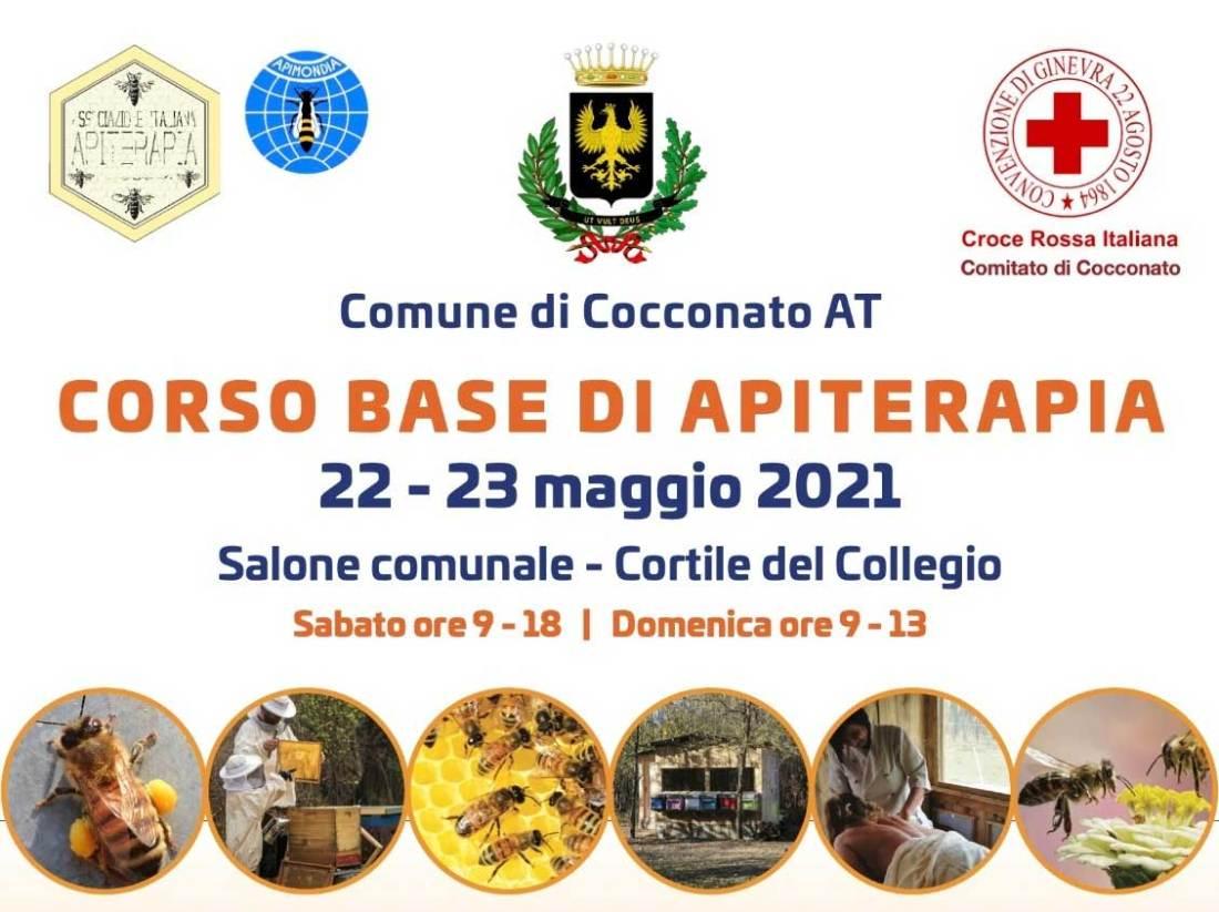 Apiterapia italia corso base 22 e 23 maggio 2021