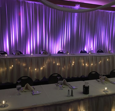 Pipe and Drape Backdrops to Fit Your Color Theme  A