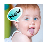 cute baby stickers, Cute baby stickers No 1 Best App