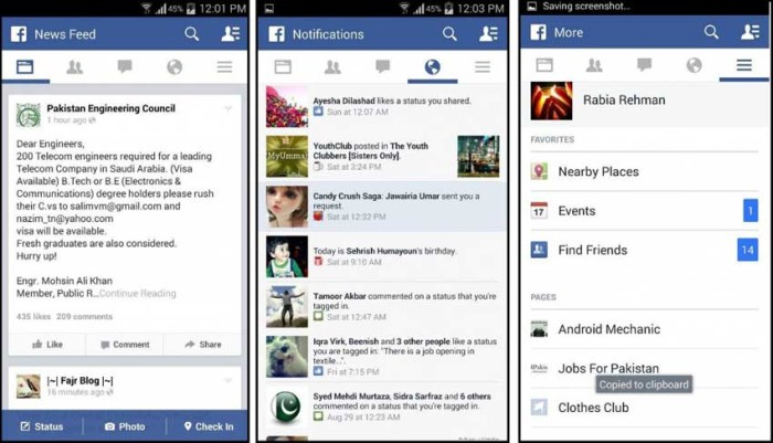 facebook apk free download for android mobile