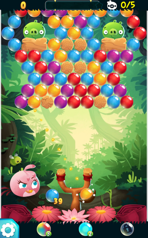 Angry Birds POP Bubble Shooter5