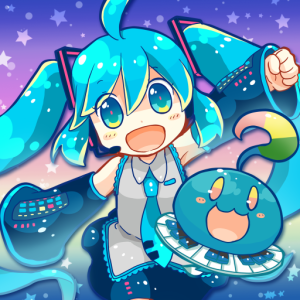 Music of the first beat Miku