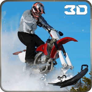 Extreme Snow Mobile Stunt Bike