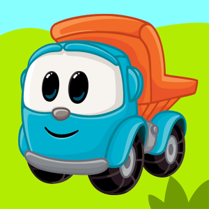 Leo the Truck and cars: Educational toys for kids