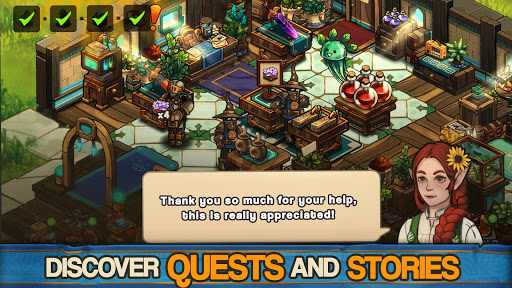 Tiny Shop: Cute Fantasy Craft, Design & Trade RPG